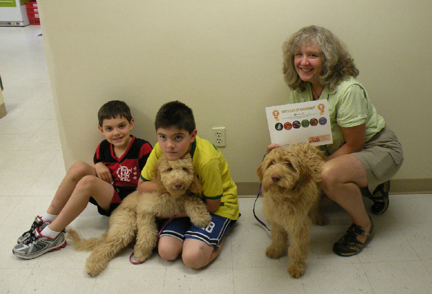 Dog obedience training is offered at Karlas Pets in Conway NH.