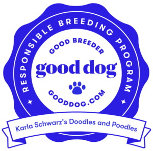 Doodle breeders NH badge
